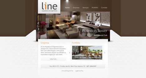 Line Arquitetura by nfxdesign
