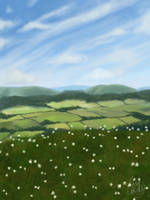 Landscape Stock Painting by megcowley