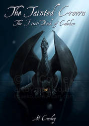 Tainted Crown Front Cover (With Text) by megcowley