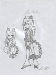 Alice Moralin by DMonkeh