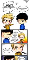 Chibi Trek Filler Comic by ZombieDaisuke