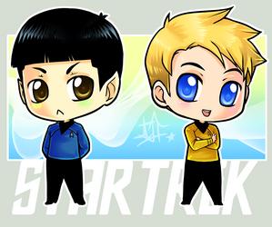 StarTrek: Chibi KS by ZombieDaisuke