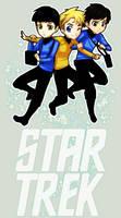 StarTrek: OT3 Float by ZombieDaisuke