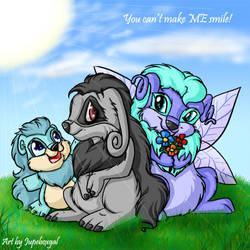 Just try to make me smile by Jupeboxgal