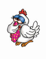 chiken Flue V1 by coloredsoul