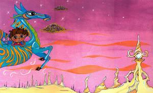 flying seeking hope by coloredsoul