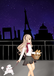 Corrin in Paris by echoing-suicune