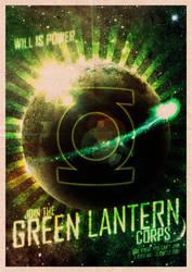 Green Lantern Corps Propaganda by javiperillas