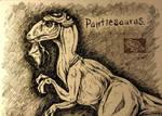 inktober #10 - Pantiesaurus by Pantiesaurus