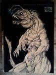 inktober #16 - we eat fears by Pantiesaurus