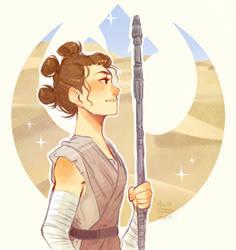 Rey by TumbleweedFrenzy