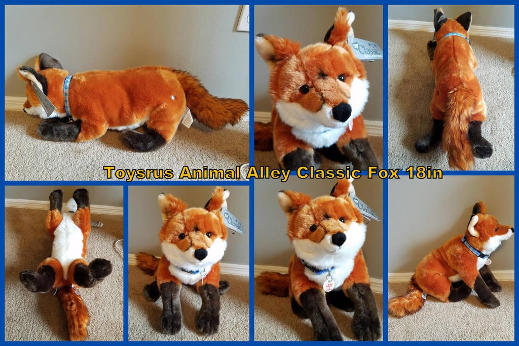 Toysrus Animal Alley Classic Fox 18in By Vesperwolfy87 On Deviantart