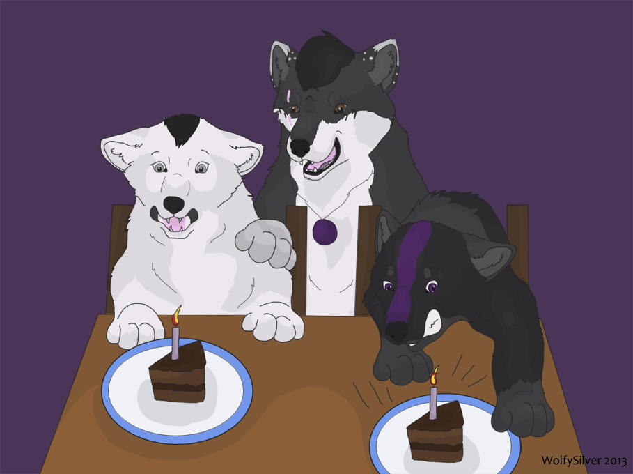 Wolf Mountain Birthday Song by wolfysilver
