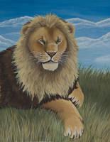 Lion by wolfysilver