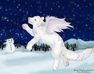 Lilymud Secret Santa by wolfysilver