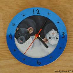 Rat O'Clock by wolfysilver