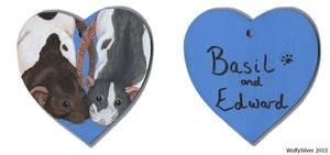 Basil and Edward by wolfysilver
