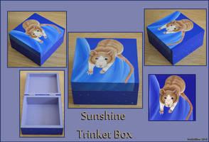 Sunshine Rat Trinket Box by wolfysilver