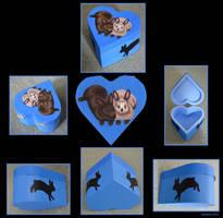 Rabbit Trinket Box by wolfysilver