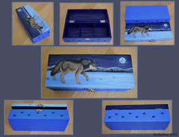 Wolf Compartment Box by wolfysilver