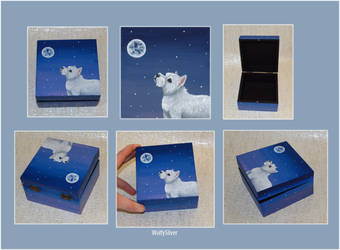 West Highland White Terrier Box by wolfysilver