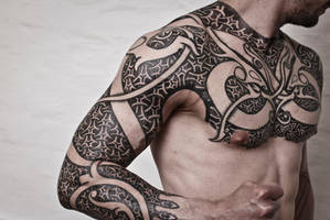 Armor of Wyrms, day 10. Tattoo of the ages by Meatshop-Tattoo