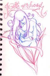 Motherhood sketch by negativefeeling
