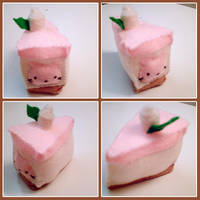 lopsided nyanko by hellohappycrafts