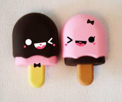 puppy-flavored ice cream love by hellohappycrafts
