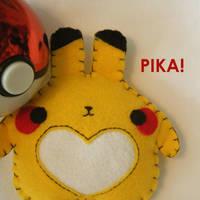 Pika pika by hellohappycrafts