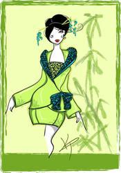 Kimono Scramble 3 by DandeiraArt