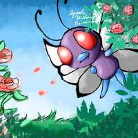 012 Butterfree by Plasmatiel