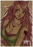 aceo - heart by pencil-butter