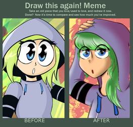 2015 vs 2018 by FlavouruAnnabelle