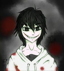 Jeff The Killer A Color by Sakenae-STH
