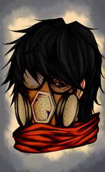 Gas mask by Sakenae-STH