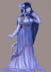 Warcraft Winter Ball: Erisaatas by CrisisDragonfly