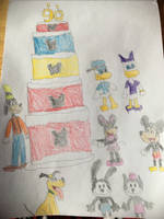 Happy 90th birthday Mickey Mouse  by Simpsonsfanatic33