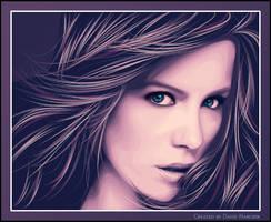 Kate Beckinsale by davidnanchin