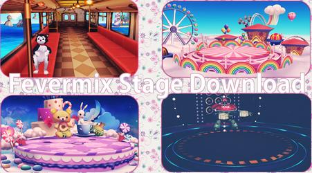 MMD Fevermix Stages Download by xxSnowCherryxx