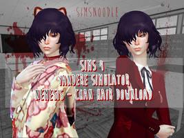 Sims 4 Mod - Yansim - Nemesis Chan by xxSnowCherryxx