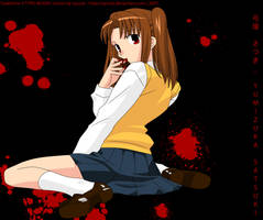 Tsukihime - Satsuki Yumizuka by nyucat