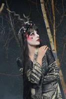 Black Geisha 03 by Fuchsfee-Stock