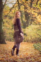 Autumn walk 01 by Fuchsfee-Stock