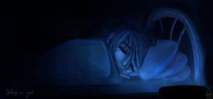 [ Me ] Speedpaint Sleep (Painting Practice) by Dreamsverse