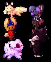 [ Gift ]  Watchers Chibi Bundles by Dreamsverse