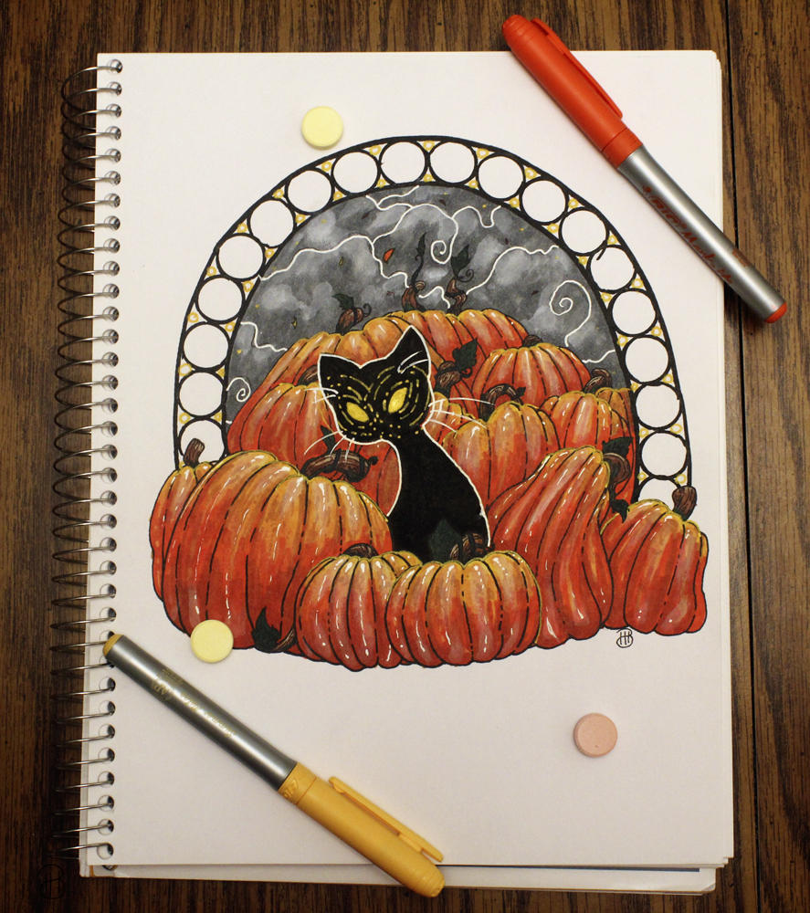 [ Traditional ] Happy Not Late at All Halloween by Dreamsverse