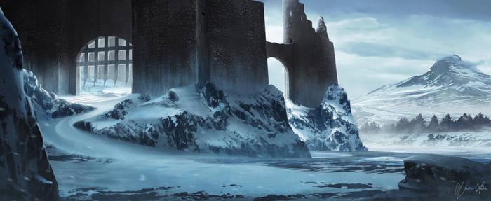 Frozen Castle by YoruXIII