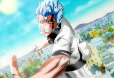 bleach grimmjow by greengiant2012