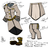 Atom-Dieselpunk Army Uniform by Eclipseowl